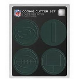 Boelter Brands LLC Green Bay Packers 4 pc Cookie Cutters