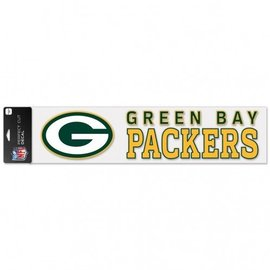 WinCraft, Inc. Green Bay Packers 4x17 Perfect Cut Decal