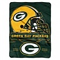 Northwest Green Bay Packers 60X80 Raschel throw