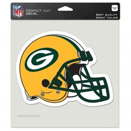 WinCraft, Inc. Green Bay Packers 8x8 Colored Perfect Cut Decal - Helmet