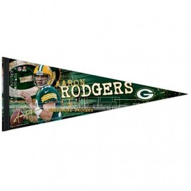 Green Bay Packers Aaron Rodgers Premium Felt Pennant