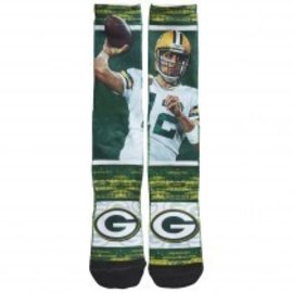 Green Bay Packers Aaron Rodgers rush sock size youth