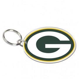 WinCraft, Inc. Green Bay Packers Acrylic G Keychain