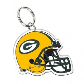 Green Bay Packers Acrylic Helmet Keychain