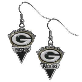 Green Bay Packers Arrowhead Dangle Earrings