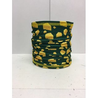 Green Bay Packers Bandana Multifunctional With Cheese Wedges