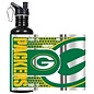 Great American Products, LTD Green Bay Packers 26 oz Black Water Bottle with Wrap Logo