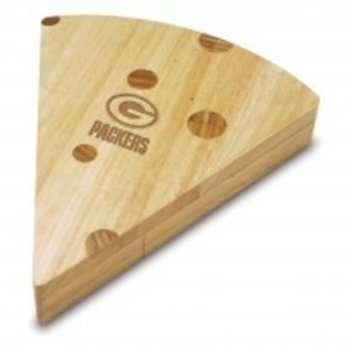 Green Bay Packers Cheese Wedge Cutting Board with Tools