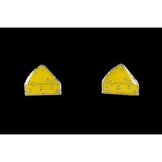 Green Bay Packers Cheese Wedge Post Earrings