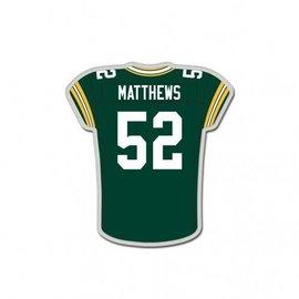 Green Bay Packers Clay Matthews Pin