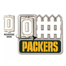 WinCraft, Inc. Green Bay Packers D/O-Fence Pin