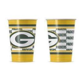 Green Bay Packers Disposable paper cups - 20 pack