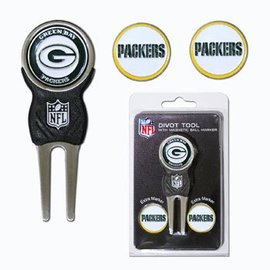 Green Bay Packers Divot Tool with Ball Markers