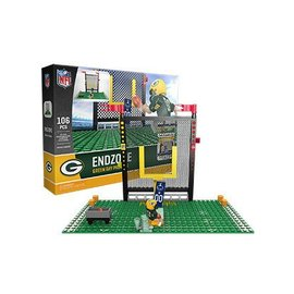 Green Bay Packers End Zone Set