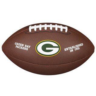 Jarden Green Bay Packers Full Size Brown Football