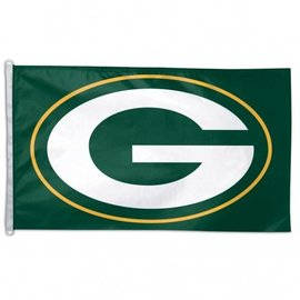 Green Bay Packers G logo 3x5 flag
