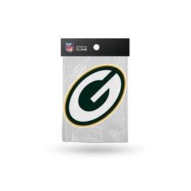 Green Bay Packers G Shape Die Cut Static Cling