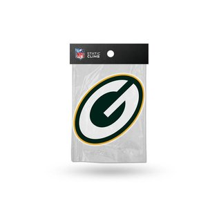 Rico Industries, Inc. Green Bay Packers G Shape Die Cut Static Cling