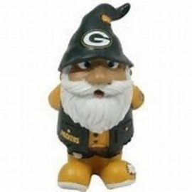 Forever Collectibles Green Bay Packers Gnome with Hands Behind His Back Ornament