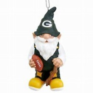 Green Bay Packers Gnome with Stick Ornament