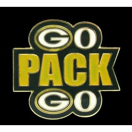 Gift Pro Green Bay Packers Go Pack Go Pin