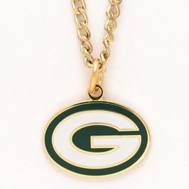 WinCraft, Inc. Green Bay Packers Gold Necklace with G