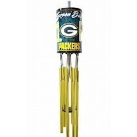 Green Bay Packers #1 Fan License Plate Wind Chime