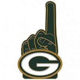 Green Bay Packers Green #1 hand pin