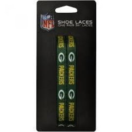 Green Bay Packers Green Shoe Laces