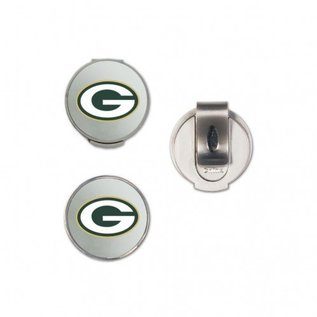 WinCraft, Inc. Green Bay Packers Hat Clip with 2 Markers