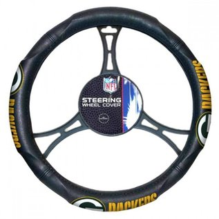 Northwest Green Bay Packers Leather Steering Wheel Cover