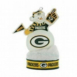 Boelter Brands LLC Green Bay Packers LED Snowman Ornament