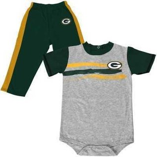 Green Bay Packers Little Rusher Pant & tee set