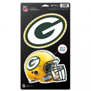 WinCraft, Inc. Green Bay Packers 2 Pack Magnets