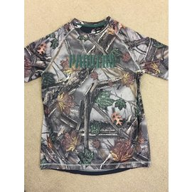 Majestic Green Bay Packers Men's The Woods Camo Polyester Short Sleeve Tee