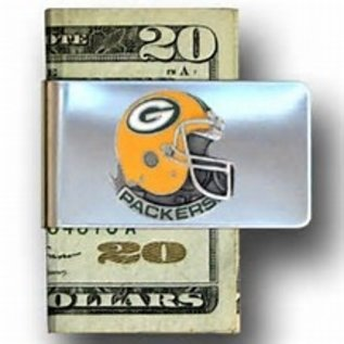 Green Bay Packers Money Clip with Helmet