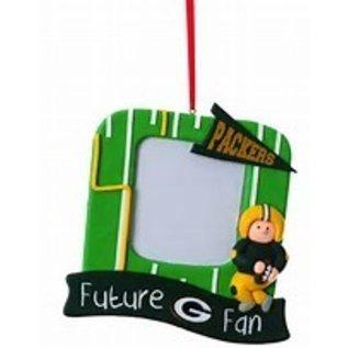 Evergreen Enterprises Green Bay Packers Photo Frame Ornament