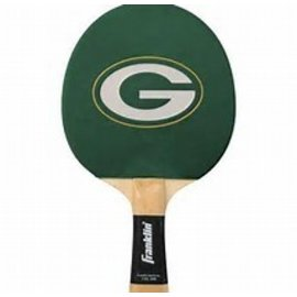 Franklin Sports Green Bay Packers Ping Pong Paddle