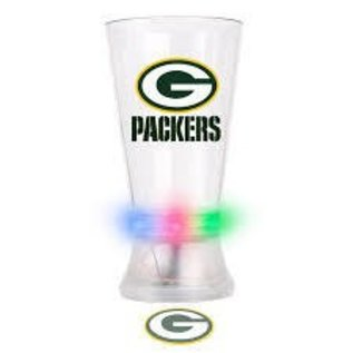 Boelter Brands LLC Green Bay Packers Projector Pint Plastic Glass