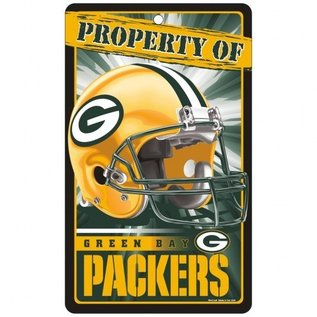 WinCraft, Inc. Green Bay Packers Property of Sign