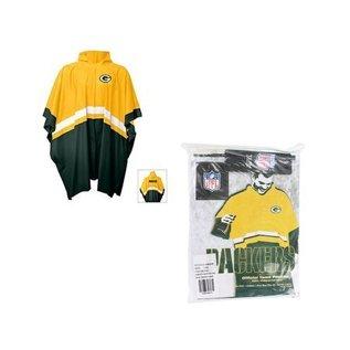 G III Green Bay Packers Rain Poncho