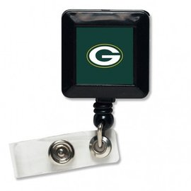 WinCraft, Inc. Green Bay Packers Retractable Badge Holder