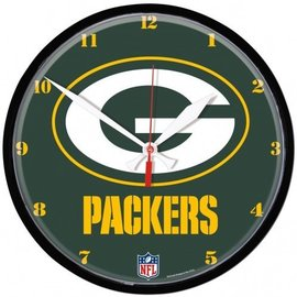 Green Bay Packers Round Clock - Green with G