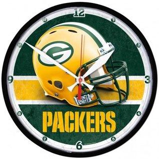 WinCraft, Inc. Green Bay Packers Round Clock - helmet