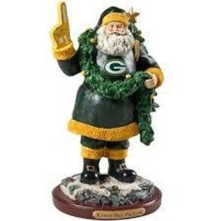 Green Bay Packers Santa Figurine - #1 Fan