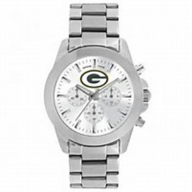 Gametime Watches Green Bay Packers Silver Watch