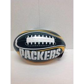 Green Bay Packers Soft Vinyl Football 8 Inch
