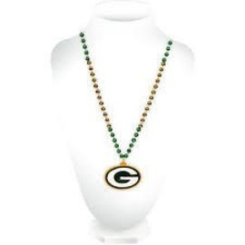 Rico Industries, Inc. Green Bay Packers Sports Beads With G Medallion
