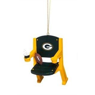 Evergreen Enterprises Green Bay Packers Stadium Chair Ornament