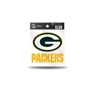 Rico Industries, Inc. Green Bay Packers Static Cling Small - G & Packers